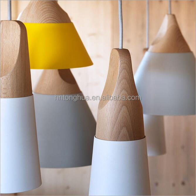 Modern City Fashion High Quality Wooden Pendant Lamps for Office with CE Approval