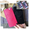 2016 guangzhou cell phone case for iphone 6 plus case soft real leather mobile phone cover for iphone6 plus