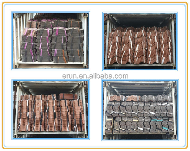 China Top Quality Ceramic Roof Tile Double Bent Roof Tiles For ...