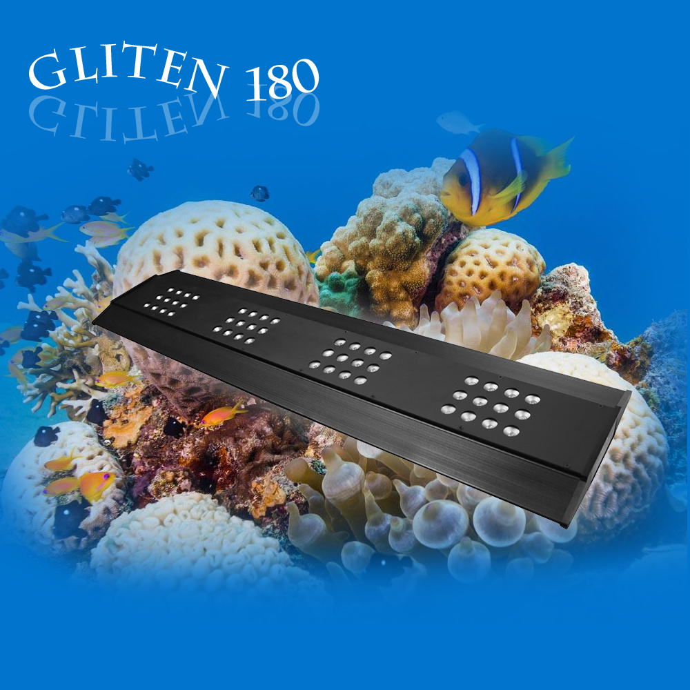 2016 Best sell wifi control 48 inch led aquarium light coral reef used led aquarium