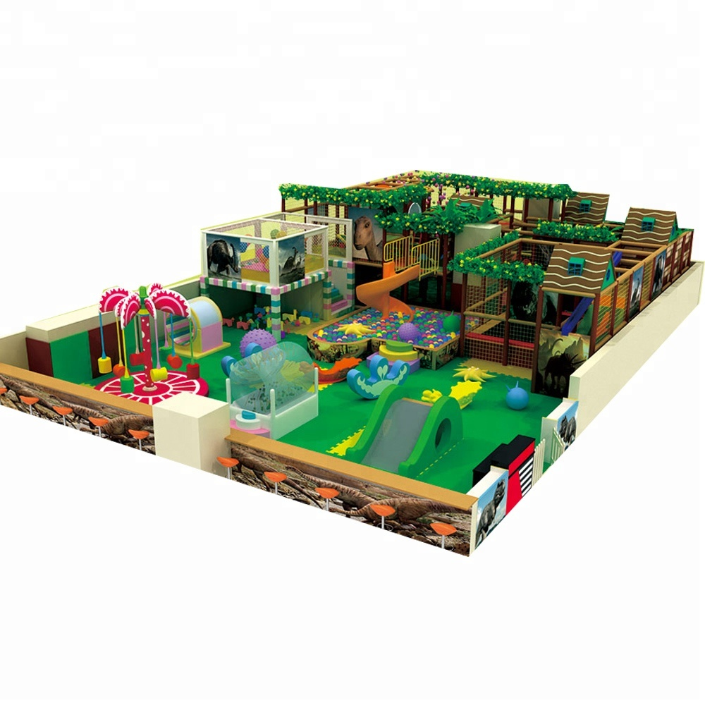 Forest indoor children's play equipment prices