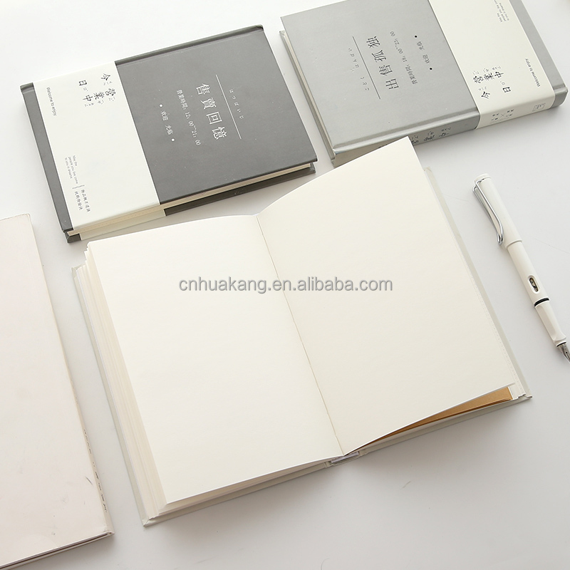 Kustom Hard Cover 80 Pages Notebook Putih