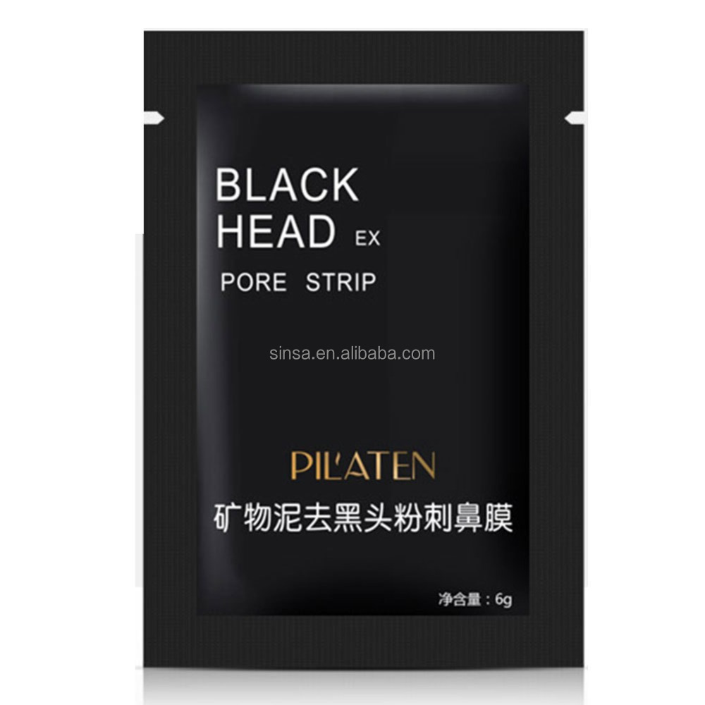Pilaten black head remover cream pore strips blackhead strips 6g Pilaten