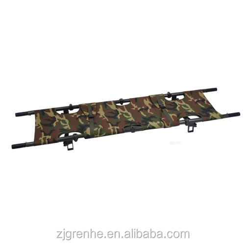 ST67047 First Aid Military Benefits Price Ambulance Stretcher with feet