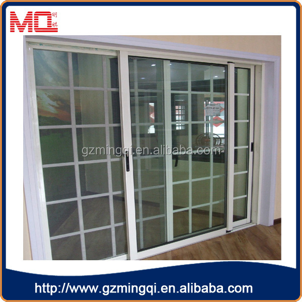 Latest Australia Standard 3 Panel French Doors Pvc Double Glass