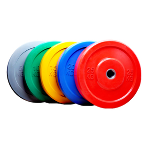 China Wholesale 25 lbs Yellow Bumper Plates
