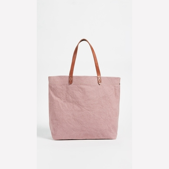 Pink Plain Canvas Tote Bags Bulk Whole Large Ping With Leather Bag