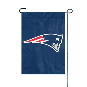 New England Patriots Premium Garden Flag with stand