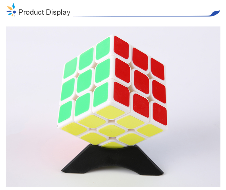 Sail 5.6cm develop intelligence small cube toy qiyi with different color base