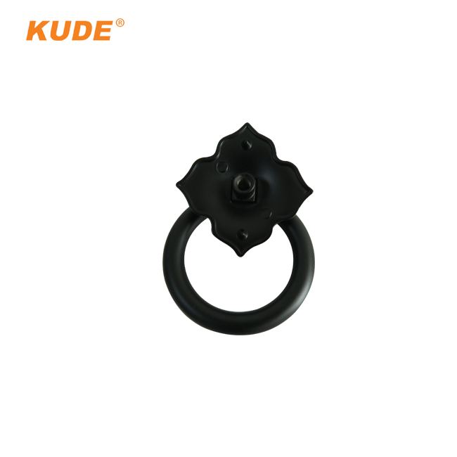 KUDE Luxury Flower Door Locks and Pull Cabinet Handle