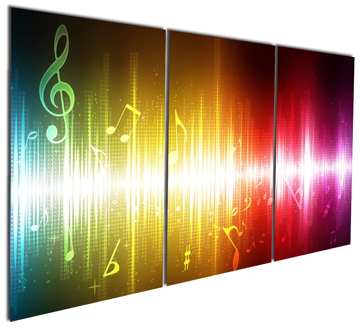 Buy Canvas Wall Art,Colorful Active Pop Art Canvas Print,Cool ...