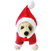 Christmas santa claus style pet gift fleece sweaters dog cat decoration hoodie