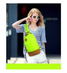 Anti-theft Shoulder Sling Chest Bag Waterproof Nylon Backpack Cross Body bags Women