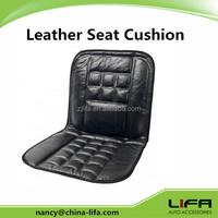 Genuine Leather Cushion/Cheap Leather Car Seat Cushion/Sheepskin Leather Car Seat Cushion