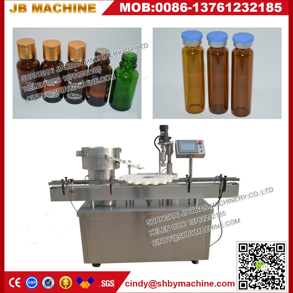 New design piston liquid filling machine with rubber stoppering system