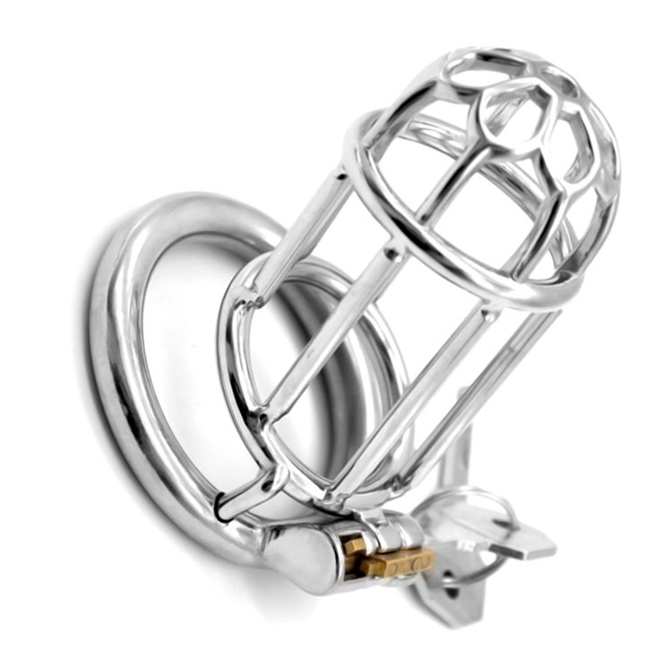Frrk10 3 4 Inch Man Chastity Cage Lock Penis In Cage With