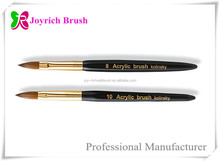 Acrylic Nail Brush Kolinsky Hair Products Wholesale Size 10&8