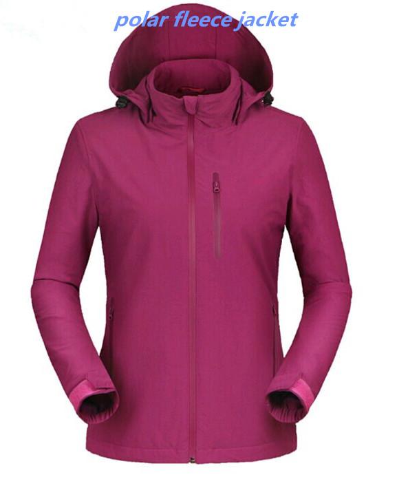 Polar Fleece Jacket With Elastic Cuff, Polar Fleece Jacket With ...