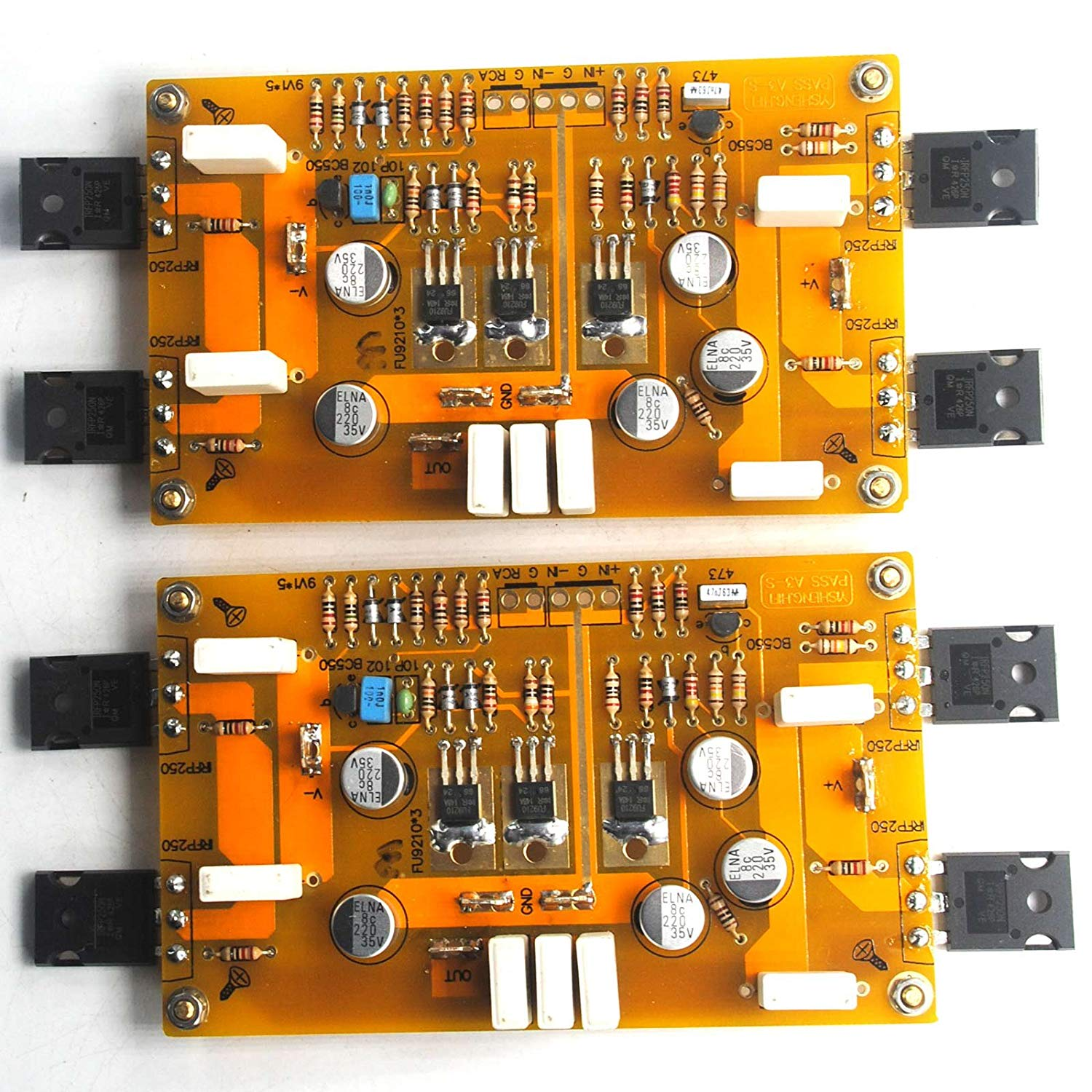 2PASS A3 HiFi Amplifier Board IRF9610 IRF244 30W+30W DC25V Class A Single-Ended