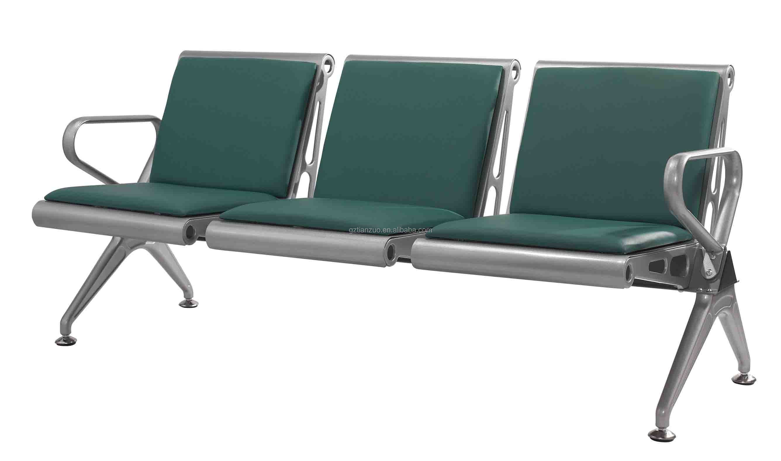 Modern Style Aluminum Airport Chair Station Waiting Chair