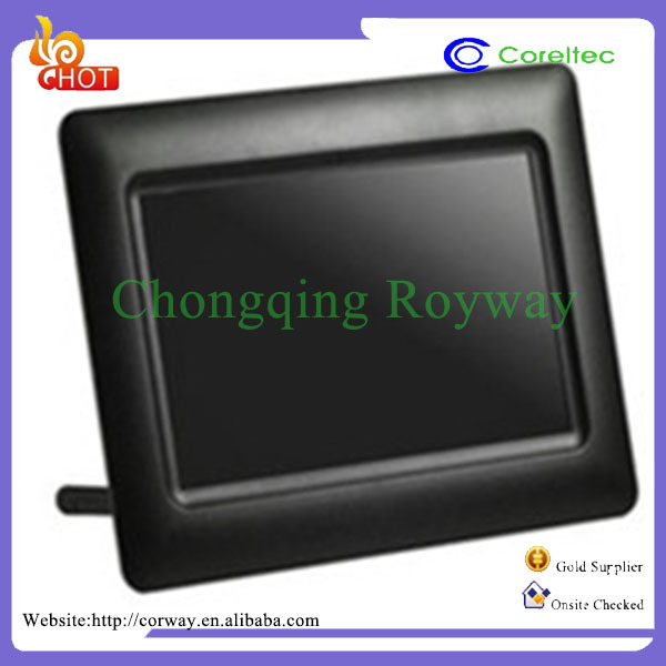 LCD Screen Display Auto Rotate 3G Digital Photo Frame