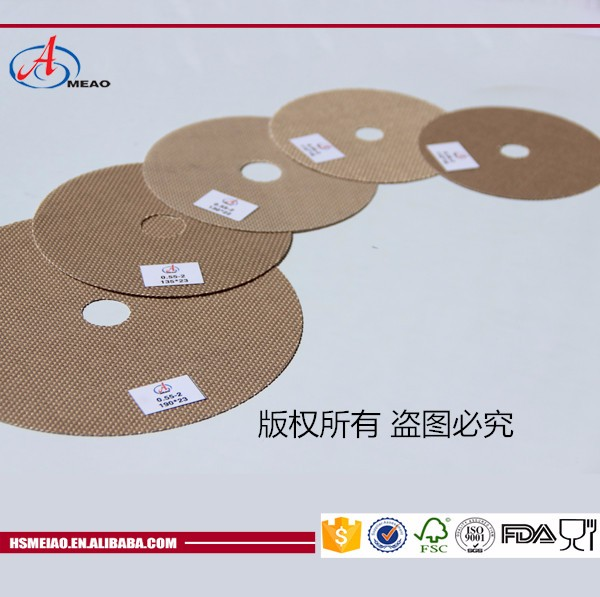 Heat resistance ptfe separator for grinding wheel