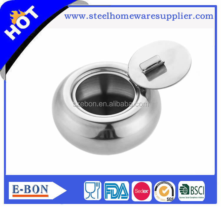 High quality stainless steel ashtray moroccan ashtray