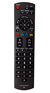 VINABTY New N2QAYB000485 Replaced Remote fit for PANASONIC HDTV REMOTE 32 ~ 85 TV for TC-32LX24 TC-42LD24 TC-42LS24 TC-42PX24 TC-50PS24 TC-50PX24 TC-58PS24 TC-65PS24 TC-L22X2 TC-L32C22
