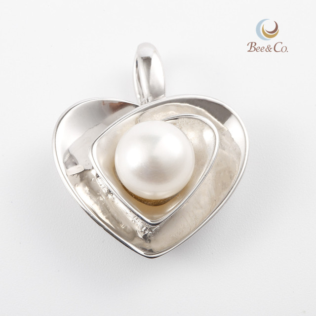 China pearl mounting pendant wholesale alibaba heart shape faberge egg pearl pendant mounting aloadofball Image collections