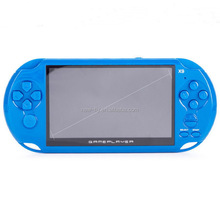 Hot selling 5 inch X9 Handheld Video Game Player with Video Music Games TV OUT