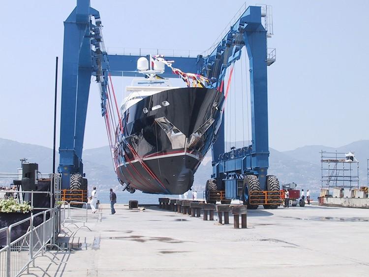 Marine Travel Lift 500 Ton Vessel Lifting Crane Buy