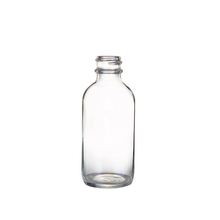 2Oz Boston Round Glass Bottle Hip Flask For Essential Oil