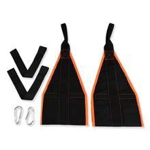 Тренировочный пояс с подвеской, подтягивающий пояс для мышц тела, для упражнений в животе, оборудование для фитнеса, подтяжки подбородка(China)