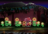 Chinese Festival Outdoor Decoration Light Hello Kitty Theme ...