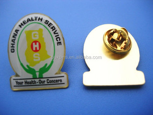 GHANA HEALTH SERVICE brooch GHS lapel pin