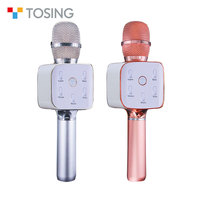 Blue tooth wireless speaker handheld microphone for karaoke singing tosing 02,tosing 04,tosing 11, k068, K9 q7 microphone