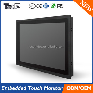 12.1'' Rack Mount LCD Monitor with Touch Screen Optional