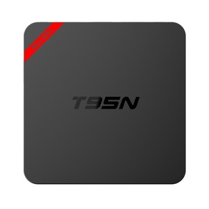 streaming live tv channels free full hd t95n mini mx+ 1gb 8gb s905x set top box ott tv box t95n android 6.0 tv box