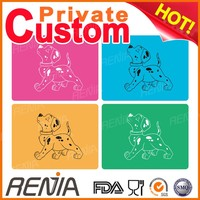 RENJIA pet pad for training dog waterproof dog bed dog feeding mat silicone