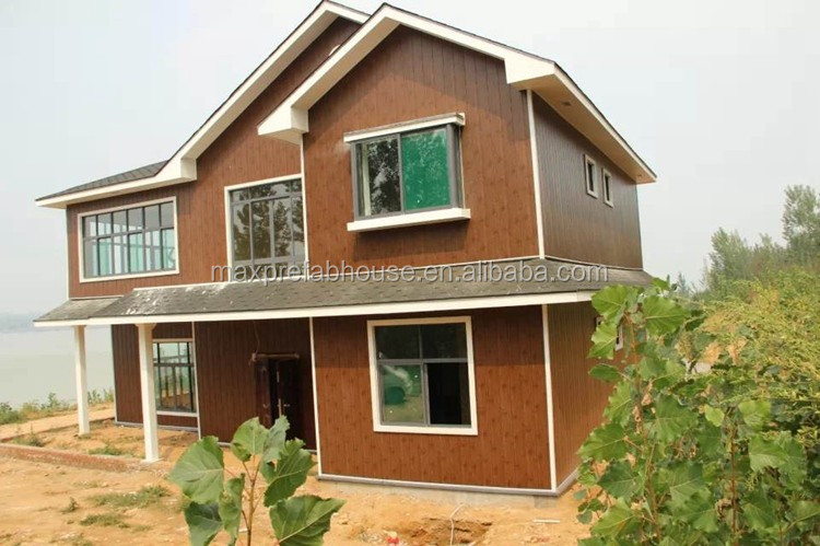 2 floor building 3 bedroom steel homes structure for Photos of house design in nepal