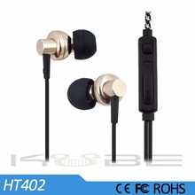 2017 best fashion earbuds funky metal earphone with microphone