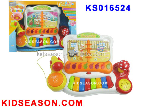 KIDSEASON EDUCATIONAL MUSICAL INSTRUMENT TOYS PIANO ELECTRONIC ORGAN