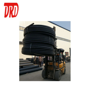 HDPE pipe black plastic hdpe water pipe roll 3 4 inch polyethylene pipe roll