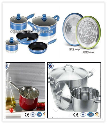 aluminium circle/disc Kitchen utensil,Non-stick cookware,Rice cooker,Lighting,Road signs,Deep drawing,Polishing,Punching