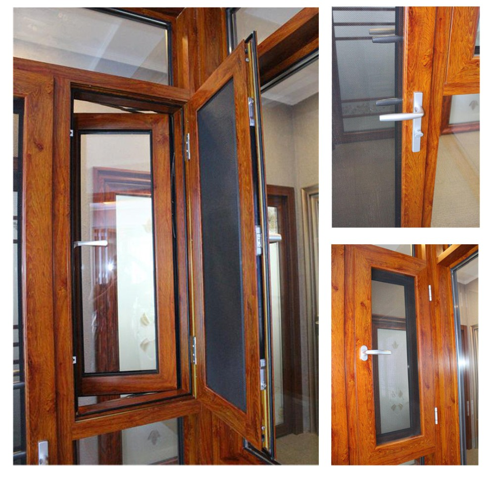 Commercial and resident used standard size aluminium doors for Recycled windows and doors