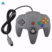 Wired Game Controller Pad Joystick para Nintendo 64 <span class=keywords><strong>N64</strong></span> Video Game Console <span class=keywords><strong>N64</strong></span> Controller Gamepad Joystick <span class=keywords><strong>Controlador</strong></span> <span class=keywords><strong>N64</strong></span>-bit