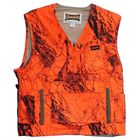 Professional blaze shooting camo hunting vest