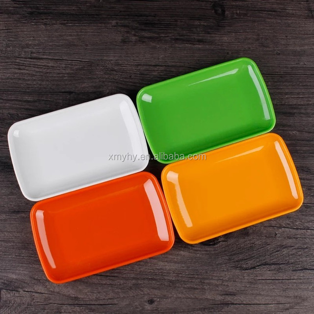 cheap bulk colourful hard plastic dinner plates melamine tableware & colorful melamine plates bulk-Source quality colorful melamine ...