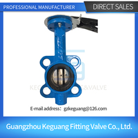 China professional manufacture stainless steel sanitary butterfly valve