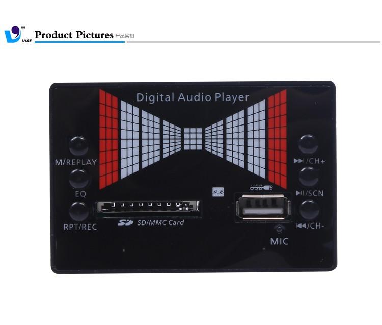 High Quality Vire Audio Mp3 Module Sd Memory Card Pcb Circuit ...